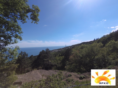 Продажа земельного участка в Алупке с видом на море и горы. - Фото 5