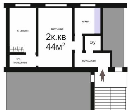 Продам двухкомнатную квартиру на Минской - Фото 1