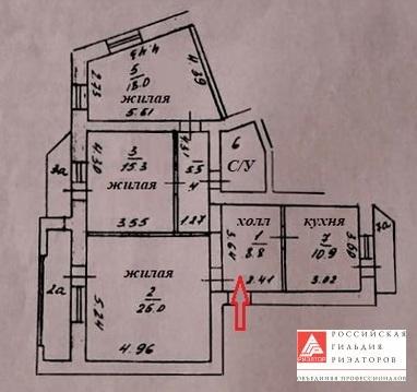 Квартира, ул. Михаила Луконина, д.9 к.2 - Фото 1