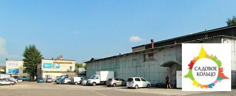 Под произ-во, выс. потолка: 6,3 м, офис. помещ, огорож. терр, въезд - Фото 3