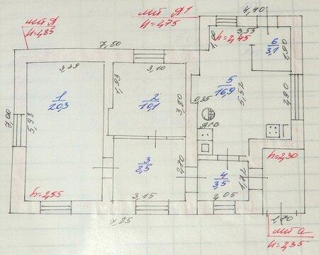 Кирпичный Дом 62 кв.м. 6 Соток — Поселок Творогово, 28-я Линия, д. 3 - Фото 3