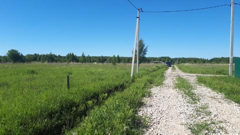Участок 11.6 соток в д.Скрипово, рядом лес, водоем и п.Заокский - Фото 2