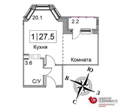 Продажа квартиры, Старая Купавна, Ногинский район, Д. 7 - Фото 1