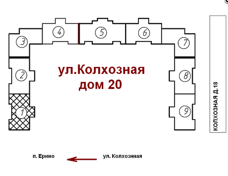 Продаю 1 комн квартиру Колхозная д20 - Фото 2