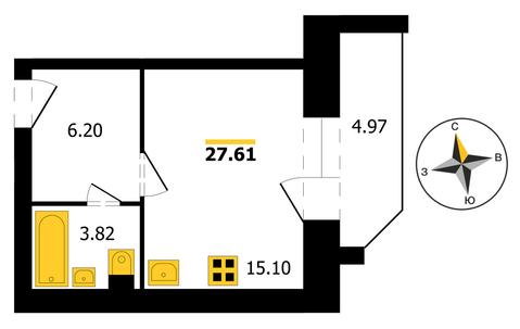 ЖК «5 Квартал» , Владимир, Куйбышева ул, д.17, Квартира на продажу - Фото 1