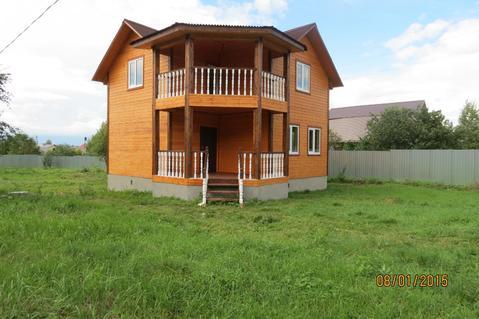 Дом 130 м2, 15 соток, Газ, Прописка, д. Арсаки - Фото 1