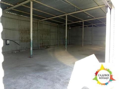 Под склад, неотапливаемый, выс.:5,5 м, пол бетон, ворота, терр. огорож - Фото 3