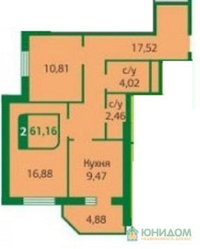 2 комнатная квартира в новом доме ул. Моторостроителей - Фото 4