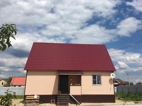 ПМЖ дом (каркасно-щитовой, утепленный) - 120 (кв.м). Участок 12 соток. - Фото 1