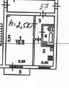 1-ком квартира 33 кв.м г. Железнодорожный МО - Фото 2