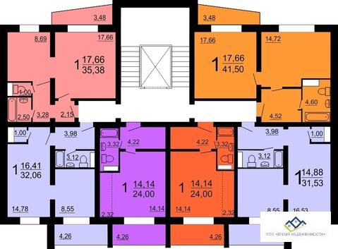 Продам 1-комн квартиру Краснопольский пр 18д 14эт, 26кв.м цена980 т.р - Фото 3