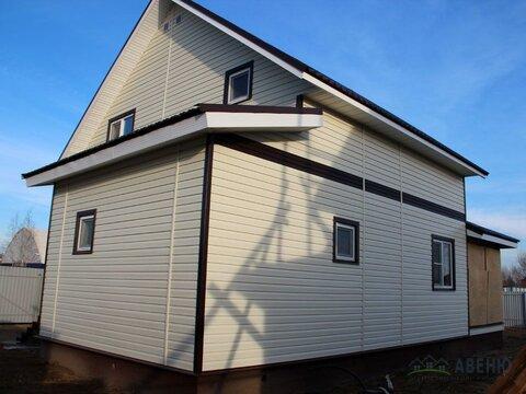 Новый двухуровневый дом площадью 100 кв.м. 'под ключ'. - Фото 2