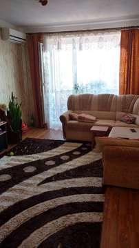Большая 3-х комнатная квартира 74 кв.м. в новом панельном доме, Купить квартиру в Таганроге по недорогой цене, ID объекта - 326181717 - Фото 1
