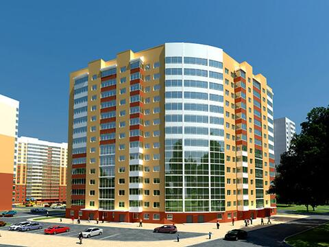 Продажа однокомнатная квартира 45.2м2 в ЖК Рощинский дом 7.1. секции . - Фото 3