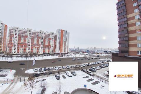 Трехкомнатная квартира в. Челябинске с парковочным мест, северо-запад - Фото 4