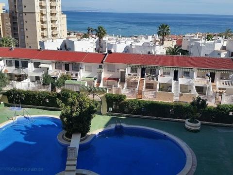 3х комнатная квартира в Испании с видом на море и бассейном. - Фото 1