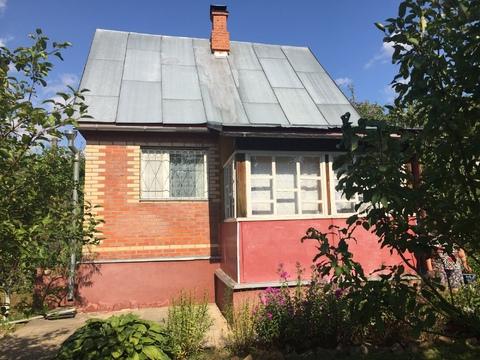 Г. Москва, вблизи д. Чернецкое, 11сот, жилой дом 44м2, за участком лес - Фото 2
