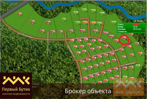 Продается участок, Энколово д, Охтинская перспектива ул. - Фото 1