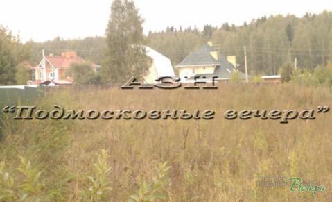 Осташковское ш. 15 км от МКАД, Манюхино, Участок 14 сот. - Фото 1