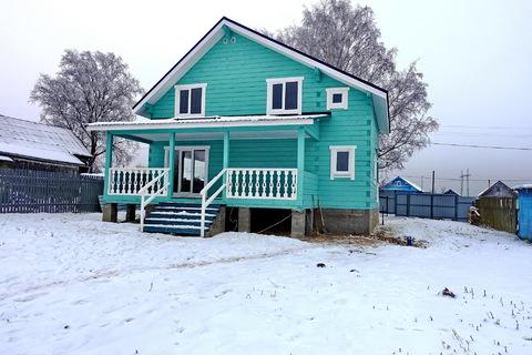 Продается новый дом 170 кв.м, в деревне, участок 18 соток. - Фото 3