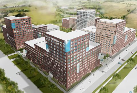 Продажа трехкомнатная квартира 74.97м2 в ЖК Суходольский квартал гп-1, . - Фото 3