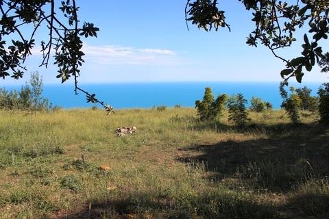 Прода участок 10сот на берегу моря в Крыму Алупка - Фото 1