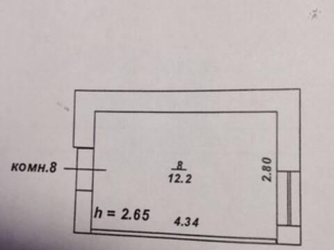 Продажа комнаты в четырехкомнатной квартире на проспекте 50 лет ., Купить комнату в квартире Твери недорого, ID объекта - 700754061 - Фото 1