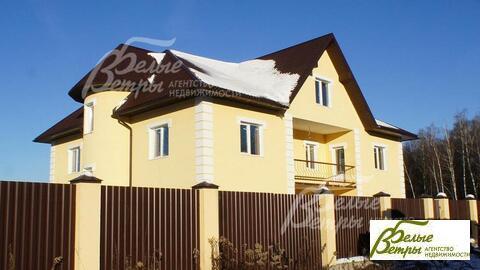 Дом371 кв. м,  16 сот, Киевское шоссе,  13 км,  Дачи . - Фото 1