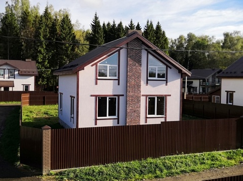 Продаётся новый дом 160 кв.м с участком 9.47 соток-35 км от МКАД - Фото 2