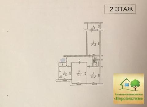 3-комнатная квартира в п. Нахабино, ул. Институтская, д. 8а - Фото 2