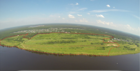 Участок 67 Га на 1 береговой линии р. Волга, ИЖС, д. Поддубье - Фото 1
