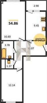 2 комнатная квартира в новом доме - Фото 2