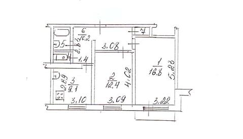 Тентюковская 115, Купить квартиру в Сыктывкаре по недорогой цене, ID объекта - 320653466 - Фото 1