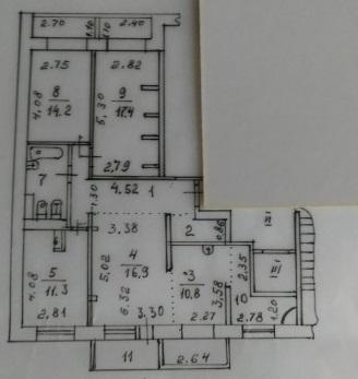 Продам 4 комн. квартиру Весенняя 20