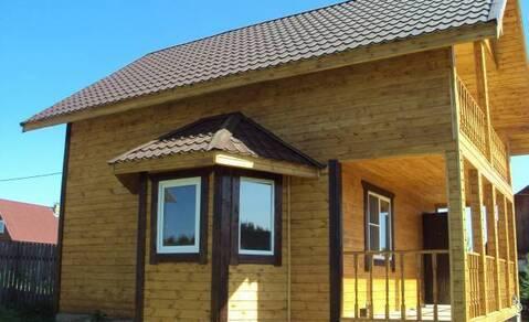 Теплый и уютный деревянный зимний дом в Городне. - Фото 1