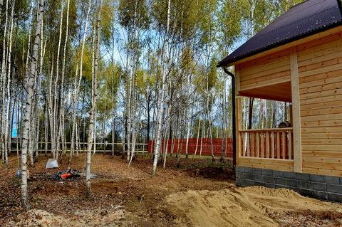 Дом в березовой роще, на огороженной и охраняемой территории. - Фото 3