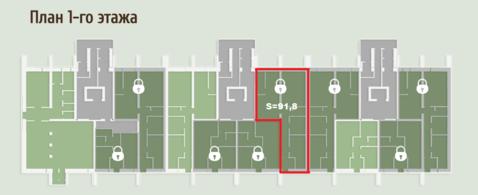 Помещение на 1-м этаже, отдельный вход. бчо. 91,8 кв.м - Фото 4