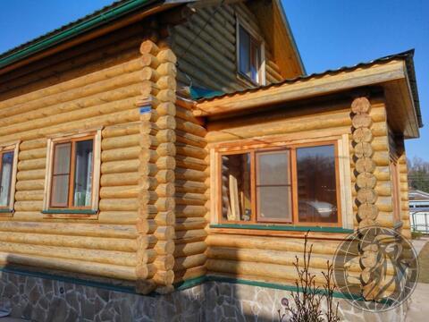 Новый дом (сруб), баня на участке 6 сот в СНТ Лукошкино зио, Кленово - Фото 3