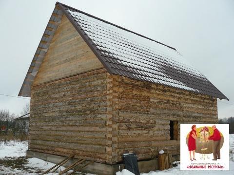 Продаётся дом - не дострой в д. Григорово Новгородского р-на - Фото 1