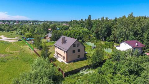 2-х этажный (3-х уровневый) дом 420 м2 на 13 сот ИЖС в г. Апрелевка - Фото 1