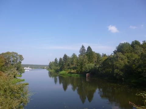 Участок 85 соток на первой линии реки Волга со всеми коммуникациями. - Фото 1