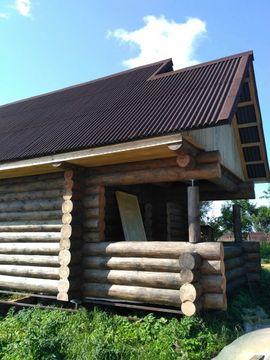 Дом новый бревенчатый на участке 15 соток - Фото 2