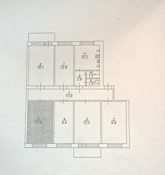 Продаю комнату в коммунальной квартире (Ленинский район) - Фото 5