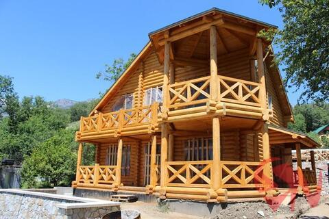 Предлагаю купить качественный дом-сруб в Алупке с потрясающим видо - Фото 2