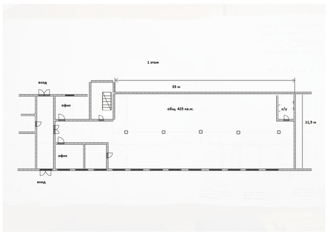 Сдам, индустриальная недвижимость, 425,0 кв.м, Нижегородский р-н, ., Аренда склада в Нижнем Новгороде, ID объекта - 900293486 - Фото 1