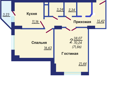Продажа квартиры, Воронеж, Ул. Переверткина - Фото 2