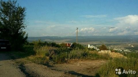 Видовой участок ИЖС 10 соток Дергачи в Севастополе - Фото 1
