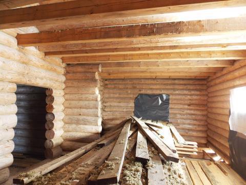 Новый двухэтажный рубленый бревенчатый дом в д. Василёво - Фото 3