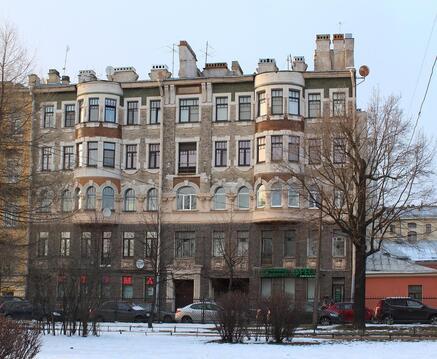 Продается трехкомнатная квартира рядом с ст. м. Спортивная - Фото 1