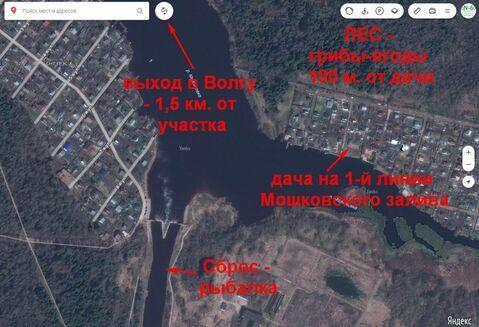 Дача в Конаково на воде - свой берег, СНТ Юность Мошковский залив - Фото 3